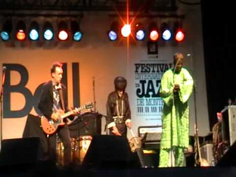 Justin Adams & Juldeh Camara at the Montreal Jazz Festival 2009