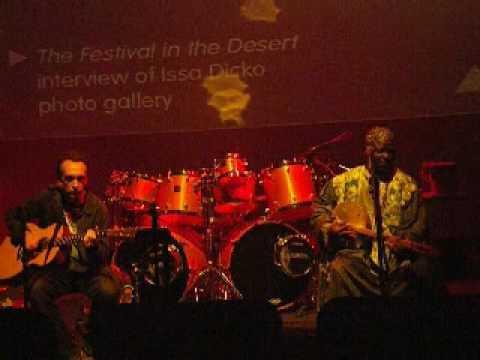 Tonio Yima - Justin Adams & Juldeh Camara -Womad Guitar Connections 09