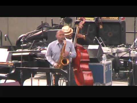 Branford Marsalis Quartet with Christian McBride: Detroit Jazz Festival 2010