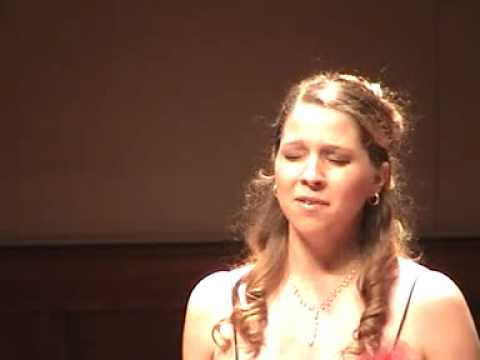 Erica sings Ravel`s Kaddish
