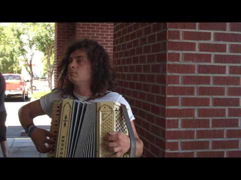 "Nate from Kay Kay & His Weathered Underground Accordion ""Tetris"""