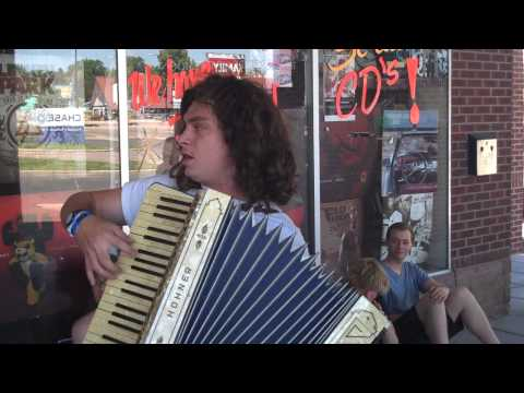 Nate from Kay Kay & His Weathered Underground Accordion Freestyle