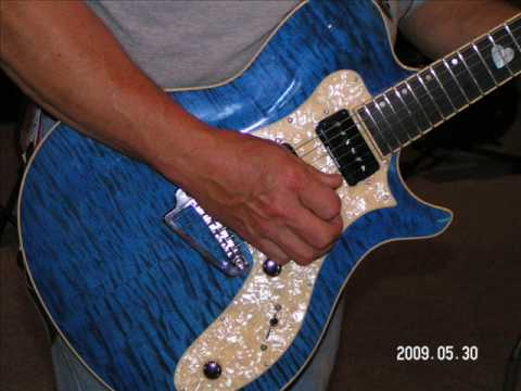Germann Guitars one of one Heart of Blues