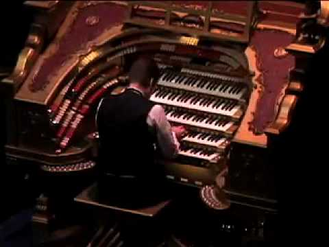 Ken Cowan at The Victorian Palace Wurlitzer Pipe Organ