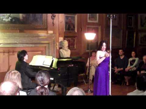 Ying Huang Ken Noda - Puccini La Boheme - Quando m`en vo