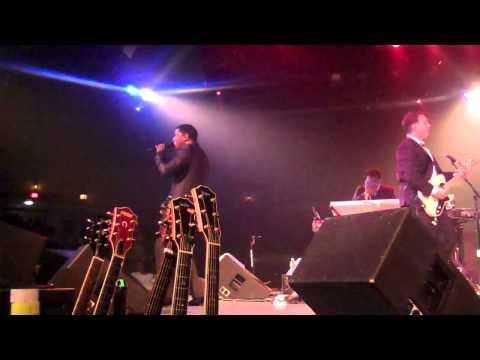 Spaun Artist Richie Pena in concert with Babyface