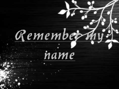 Keri Noble - Remember My Name - LYRICS