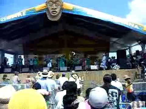 Rebirth Brass Band - New Orleans Jazz Festival 2009 Kermit Ruffins - Congo Square
