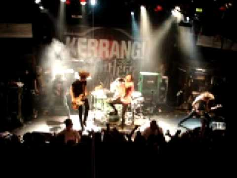 Kerrang Tour 2009 Dublin bring me the horizon ( A wall of death)
