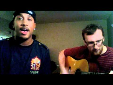 Yeah 3x (Chris Brown)-Kevin Writer Acoustic Cover with Douglas James