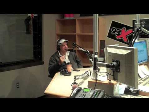 Kevin Nealon in the 93X Studio - part 1