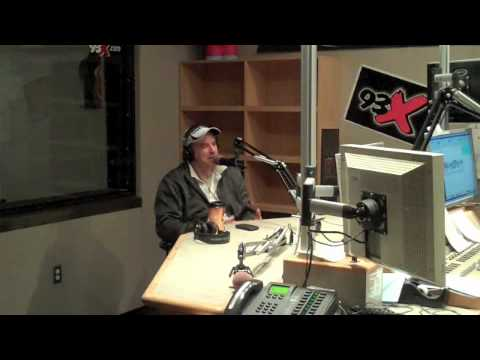 Kevin Nealon in the 93X Studio - part 2