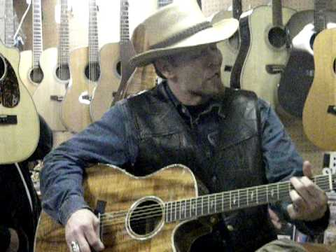 Kevin Skinner performs THE BLUES MAN at Allen Music Paducah KY