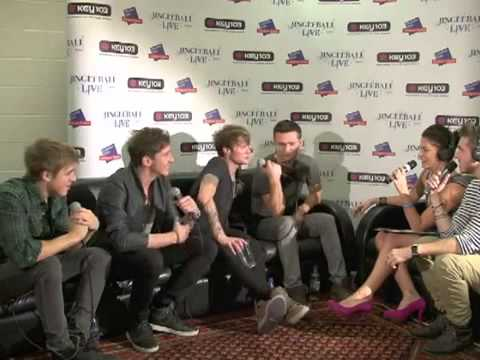 Key 103 Jingle Ball 2010 - McFly Backstage