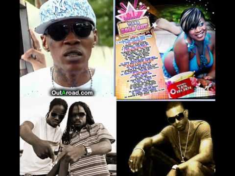 Flirtation Riddim Mix Preview - Vybz Kartel Inna Yuh, Tiana - Andrew & Wada - Konshens