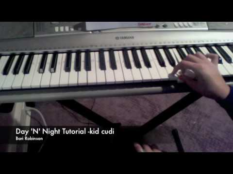 Day n` Night- Kid Cudi (crookers remix) piano tutorial!