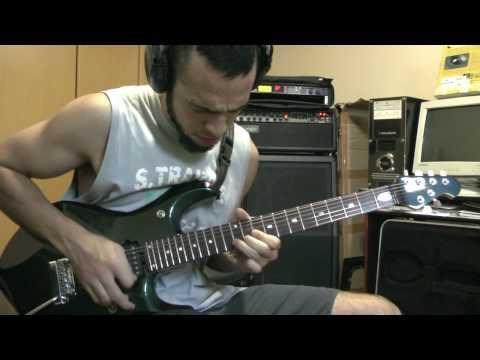 Liquid Tension Experiment - Kindred Spirits - Guitar Solo - Thiago Campos - Mark IV