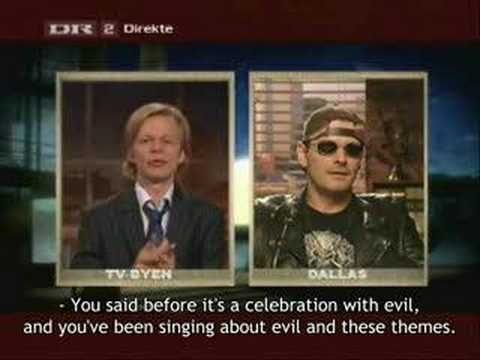 King Diamond Interview on Danish TV (with subtitles)