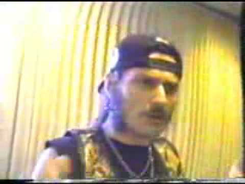 King Diamond Interview TV pt1