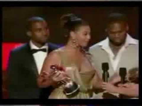 50 Cent rejects a Beyonce kiss? DUDE MAD TRIPPIN!!!