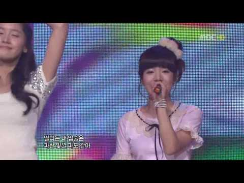 [HD] SNSD Kissing You + Girls Generation 2008 12 31 MBC Gayo Daejun LIVE