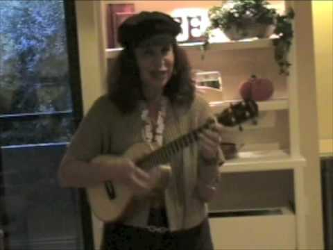 "Cali Rose Plays Ukulele & Sings ""Yes Sir, That`s My Baby"""
