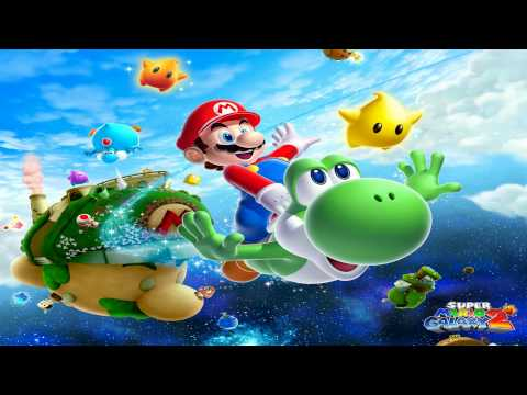 Super Mario Galaxy 2 Music - N64 Slide Theme/Rainbow Ride/Koopa the Quick (11 Minute Version)