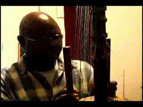 Kora music from West African Griot lankandia cissoko