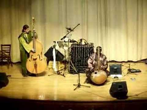 Malian Kora Musician Mamadou Diabate`s Ensemble-I