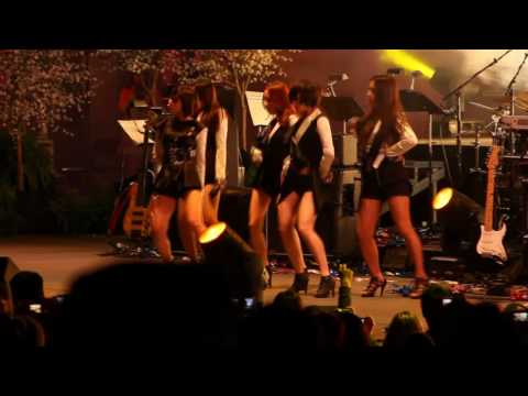 [HD Fancam] KARA - Lupin (Korean Music Festival 2010)