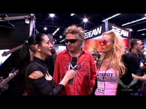James Kottak of Scorpions interview at Dean Guitars NAMM 2009