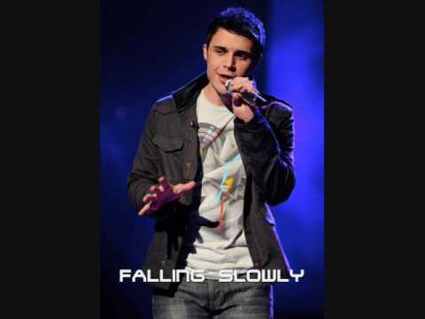 Kris Allen - Falling Slowly [live performance] 04/14/09