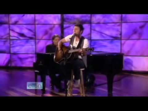 Kris Allen ? No Boundaries Acoustic ? Ellen DeGeneres