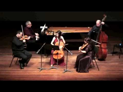 Schubert Trout Quintet at the Tel Aviv Museum of Art 3rd mov.