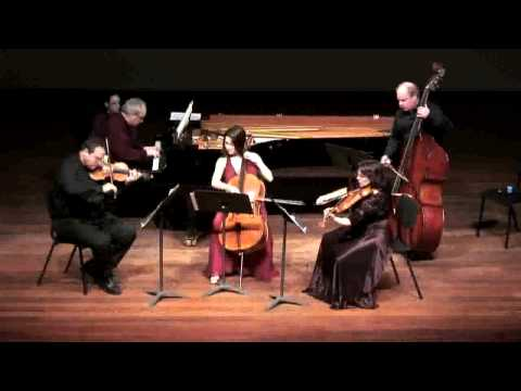 Schubert Trout Quintet at the Tel Aviv Museum of Art 5th mov