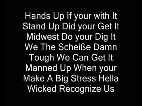Tech N9ne ft Big Krizz Kaliko - Welcome to the Midwest (Lyrics)