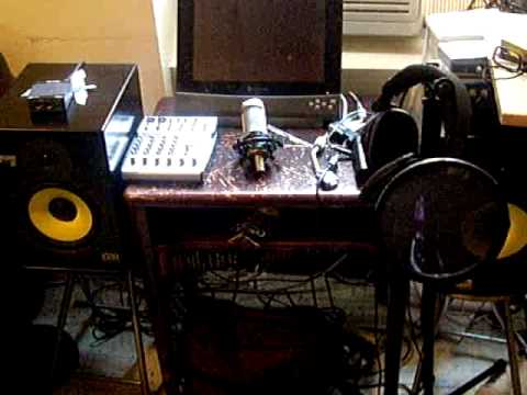 MY HOME RECORDING STUDIO SET UP PLEASE COMMENT