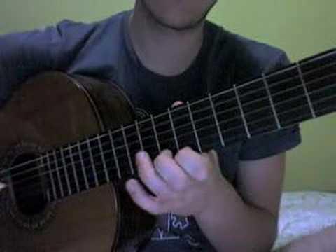 Yann Tiersen - La Valse d`Amelie Guitar