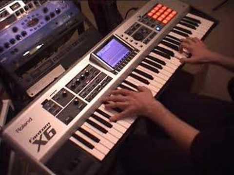 Roland Fantom X6 - Ladyhawke Main Title