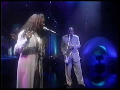 Gerald Albright & Lalah Hathaway `I Surrender` (Arsenio Hall, 1994)