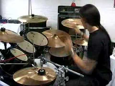 Krimh - Lamb of god - Laid to rest - Drums