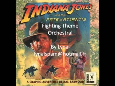 Indiana Jones - Fate Of Atlantis Orchestral - Fighting Theme.wmv