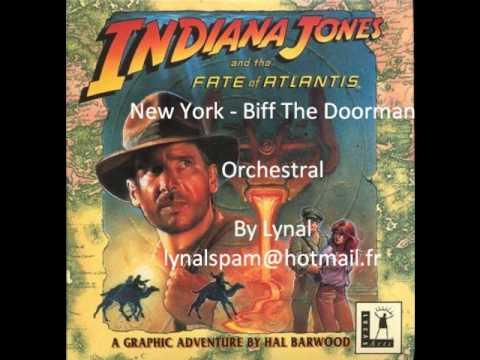 Indiana Jones - Fate Of Atlantis Orchestral - New York - Biff The Doorman.wmv