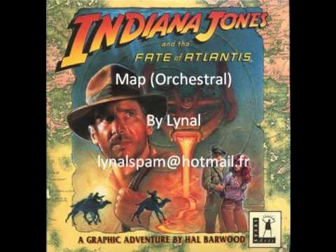 Indiana Jones - Fate Of Atlantis Orchestral - The Map.wmv