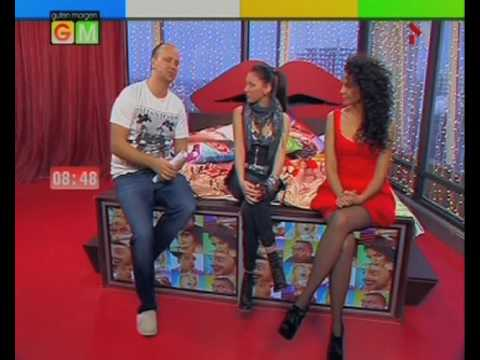 Safura - Eurovision 2010, Azerbaijan - Gutten Morgen show with Potap and Nastia Kamenskih, M1, Kyiv