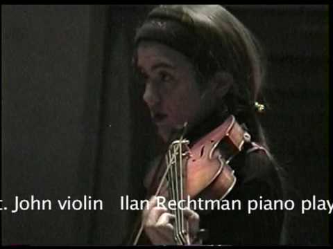 Lara St. John & Ilan Rechtman performing Sarasate`s Ziguenerweisen Live at Skywalker Sound
