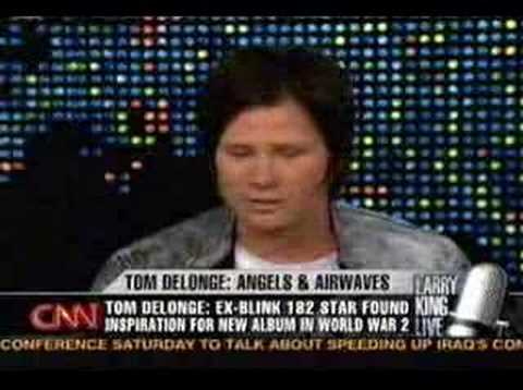 Larry King Live: Tom Delonge Part 1