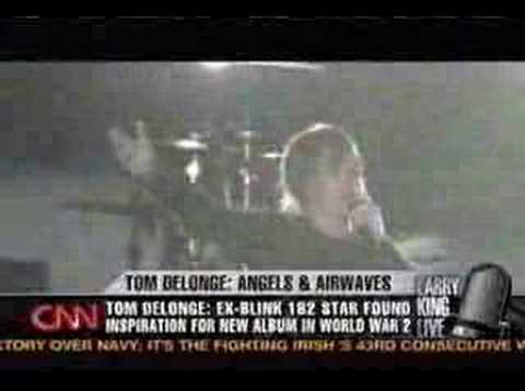 Larry King Live: Tom Delonge Part 2