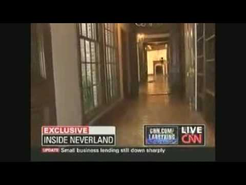 Michael Jackson Ghost During CNN Larry King Interview with Jermaine Jackson