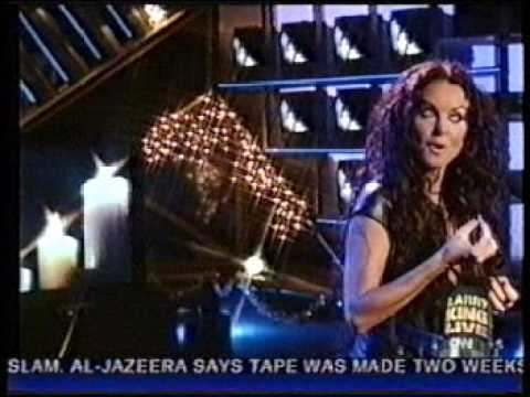 Sarah Brightman - Ave Maria (Larry King Live)